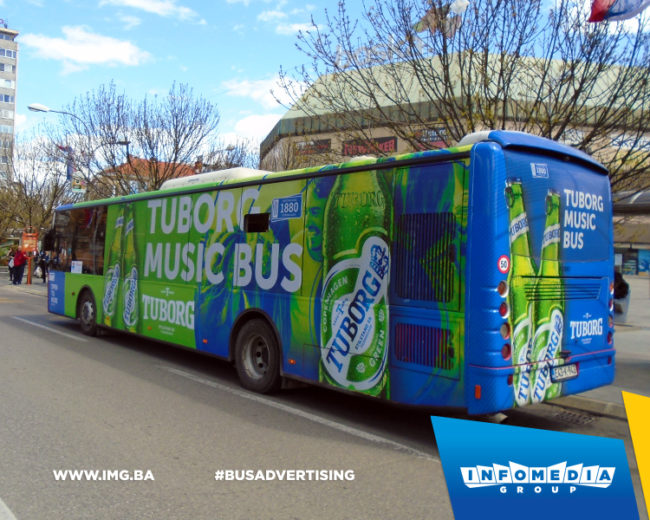Tuborg Music Bus