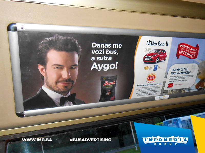BUS Indoor Advertising – kampanje realizovane u junu 2015. godine