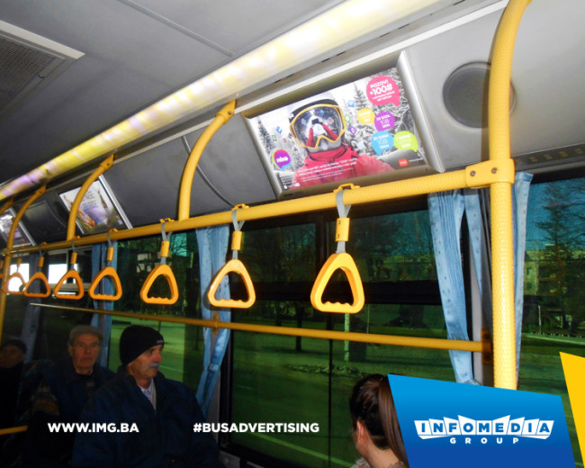 BUS Indoor Advertising – kampanje realizovane za januar 2016. godine