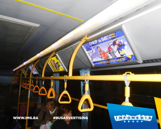 BUS Indoor Advertising – kampanje realizovane za januar 2017. godine