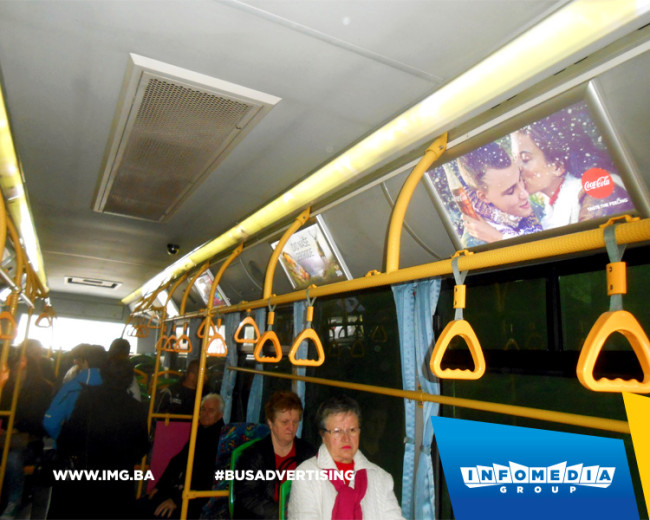 BUS Indoor Advertising – kampanje realizovane za februar 2016. godine