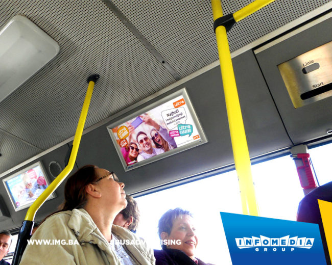 BUS Indoor Advertising – kampanje realizovane za februar 2017. godine