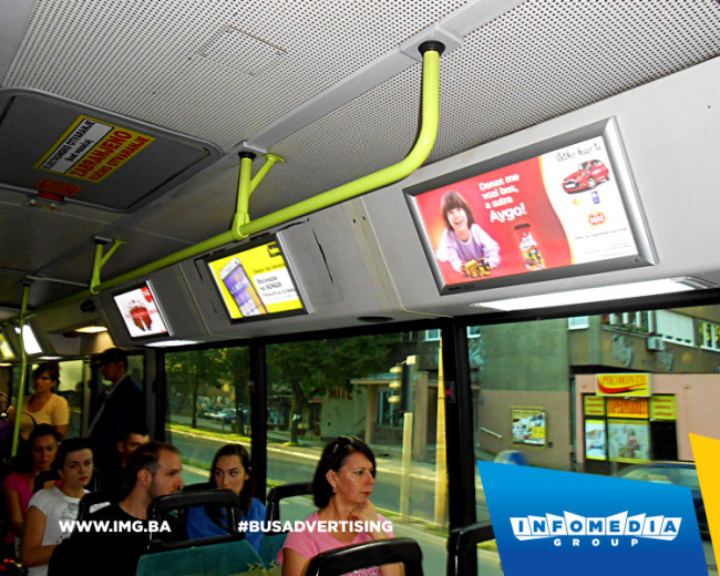 BUS Indoor Advertising – kampanje realizovane u avgustu 2015. godine