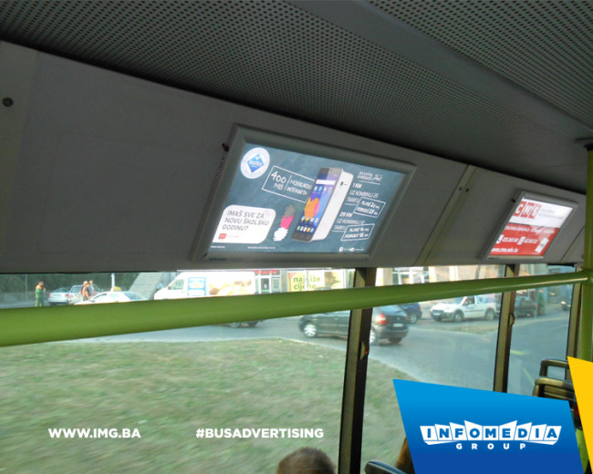 BUS Indoor Advertising – kampanje realizovane u septembru 2015. godine