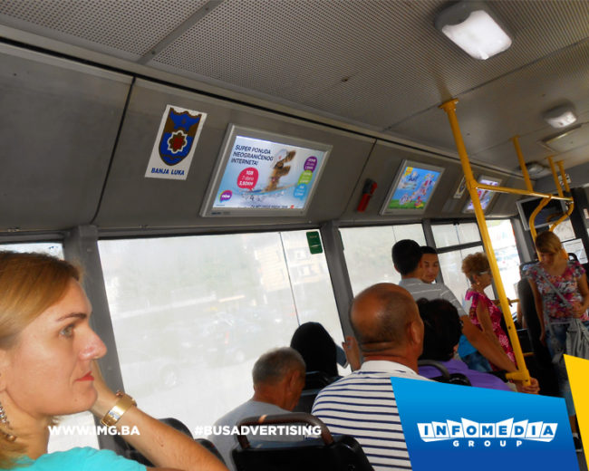 BUS Indoor Advertising – kampanje realizovane za septembar 2016. godine