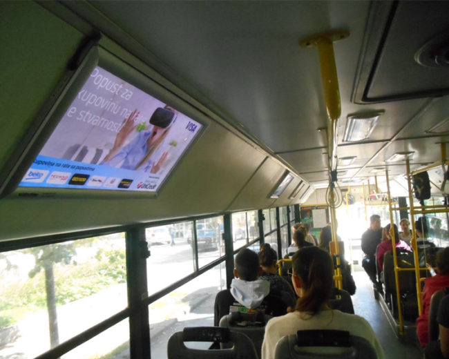 BUS Indoor Advertising – kampanje realizovane za oktobar 2016. godine
