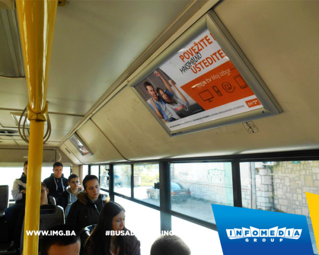 BUS Indoor Advertising – kampanje realizovane za novembar 2016. godine