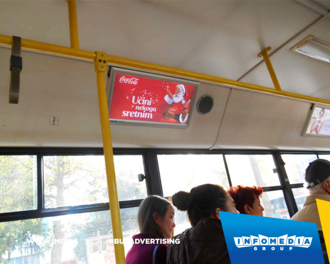 BUS Indoor Advertising – kampanje realizovane za decembar 2015. godine
